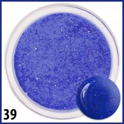 Akryl kolorowy z brokatem 39