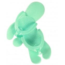 Klapki japonki zielone 12par
