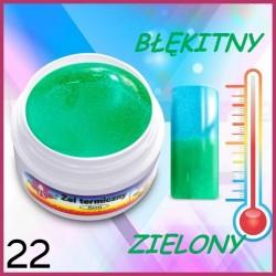 21.Żel termiczny żółty/ jaskrawo-czerwony