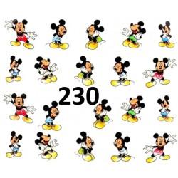 Naklejki wodne 230