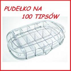 Pudełko na 100szt. tipsów lub ozdoby