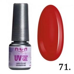 71. NTN Lakier żelowy UV -  6ml