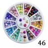 Cyrkonie kolorowe opalizujące w karuzeli nr46