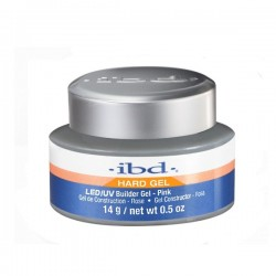 IBD Builder HARDLED/UV Gel Pink 14g