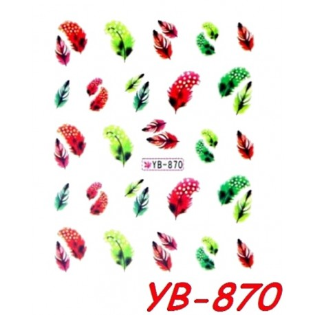 Naklejki wodne YB870