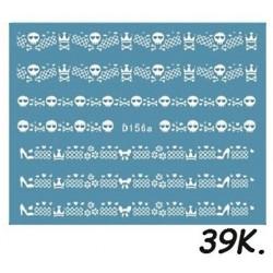 Naklejki wodne koronki 39K