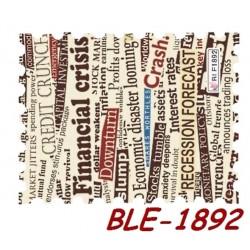 """Naklejki wodne """"Państwa,miasta"""" BLE1892"""