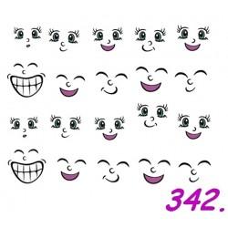 Naklejki wodne 342