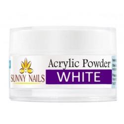 Akryl Mega White 12g. Sunny Nails