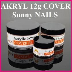 Akryl Cover Peach 12g. Sunny Nails