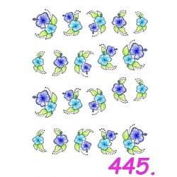 Naklejki wodne 445