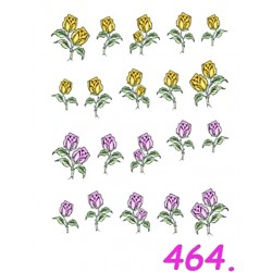 Naklejki wodne 464