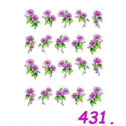Naklejki wodne 431