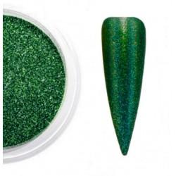 Efekt HOLO - zielony opalizujący 05
