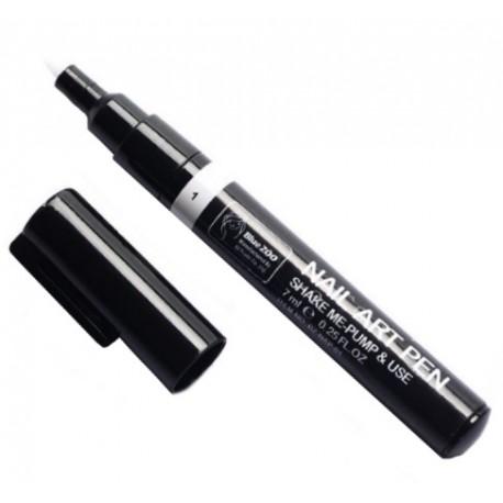 Nail Art Pen - pisak do zdobień biały nr1