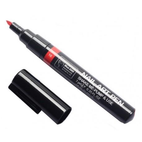 Nail Art Pen - pisak do zdobień CZERWONY