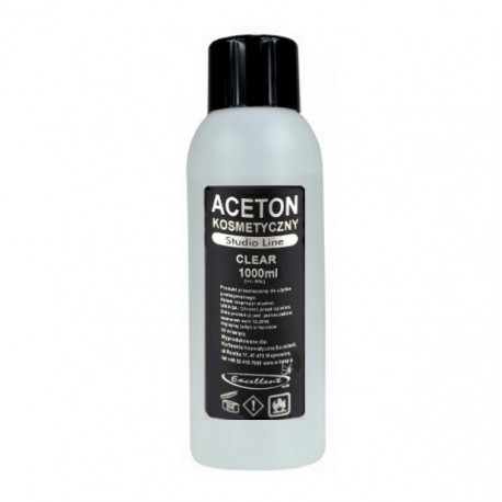 Aceton Kosmetyczny Excelleent 1000ml
