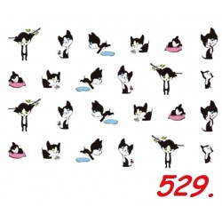 Naklejki wodne 529