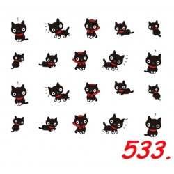 Naklejki wodne 533