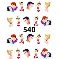 Naklejki wodne 540