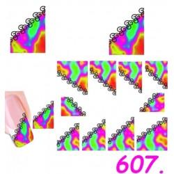 Naklejki wodne 607
