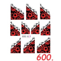 Naklejki wodne 600