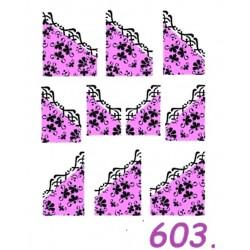 Naklejki wodne 603