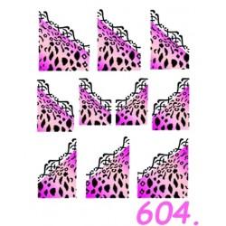 Naklejki wodne 604