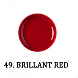 Farbki do zdobień BRILLANT RED NR 49