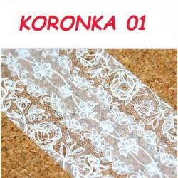 Folia Transferowa Koronka - 01