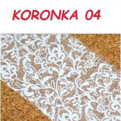 Folia Transferowa Koronka - 04
