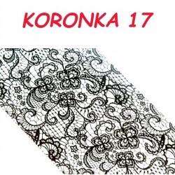 Folia Transferowa Koronka - 17