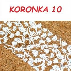 Folia Transferowa Koronka - 10