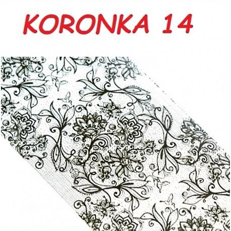 Folia Transferowa Koronka - 14