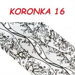 Folia Transferowa Koronka - 16
