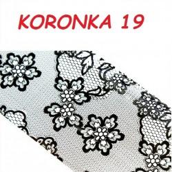 Folia Transferowa Koronka - 19