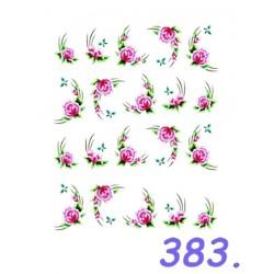 Naklejki wodne 383