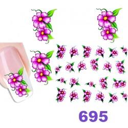 Naklejki wodne 695
