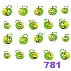 Naklejki wodne 781