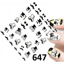 Naklejki wodne 647