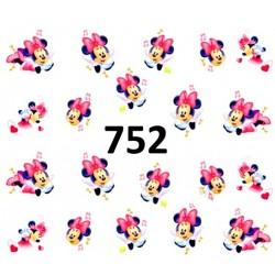 Naklejki wodne 752