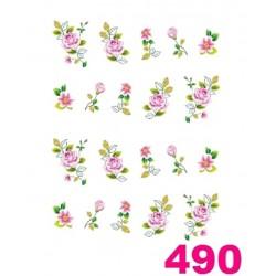 Naklejki wodne 490
