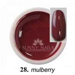 Żel kolorowy (28) Sunny Nails