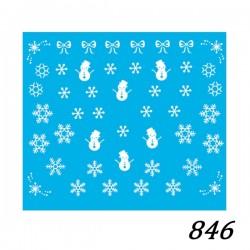 Naklejka wodna 846