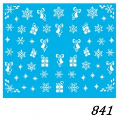 Naklejka wodna 841