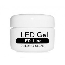 LED GEL SYSTEM - BUILDING CLEAR - 5ml