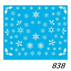 Naklejka wodna 838