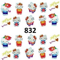 Naklejki wodne 832