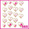 Naklejki wodne 565