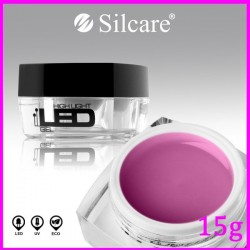 Żel High Light LED Pink 15g -Silcare
